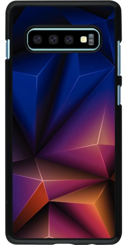 Coque Samsung Galaxy S10+ - Abstract Triangles