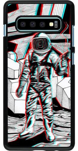 Coque Samsung Galaxy S10+ - Anaglyph Astronaut