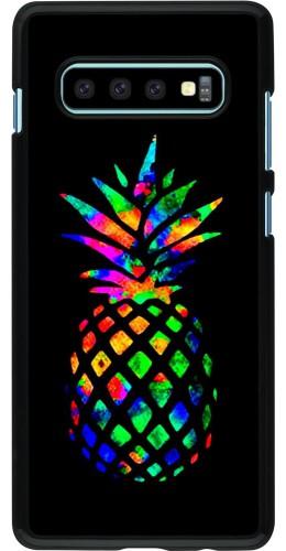 Coque Samsung Galaxy S10+ - Ananas Multi-colors