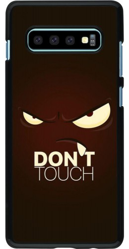 Coque Samsung Galaxy S10+ - Angry Dont Touch