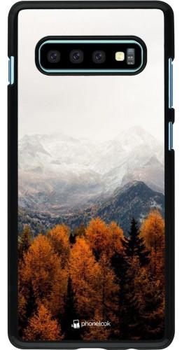 Coque Samsung Galaxy S10+ - Autumn 21 Forest Mountain