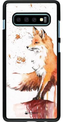Coque Samsung Galaxy S10+ - Autumn 21 Fox