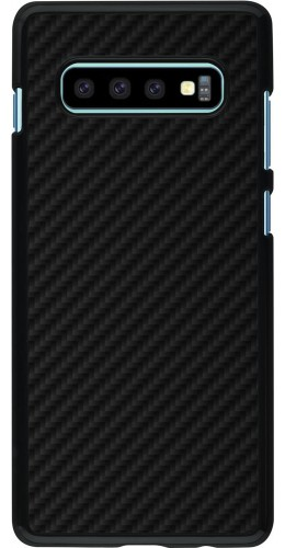 Coque Samsung Galaxy S10+ - Carbon Basic