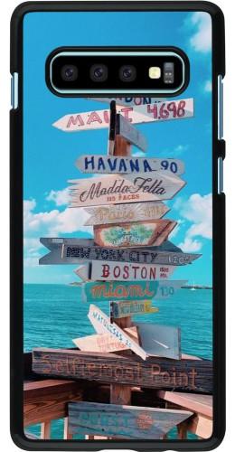 Coque Samsung Galaxy S10+ - Cool Cities Directions