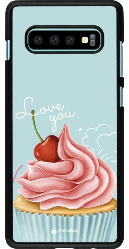 Coque Samsung Galaxy S10+ - Cupcake Love You
