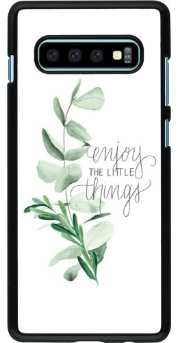 Coque Samsung Galaxy S10+ - Enjoy the little things