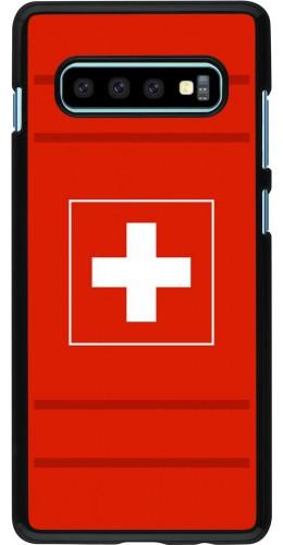 Coque Samsung Galaxy S10+ - Euro 2020 Switzerland