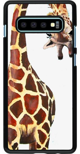 Coque Samsung Galaxy S10+ - Giraffe Fit