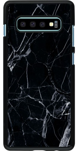 Coque Samsung Galaxy S10+ - Marble Black 01
