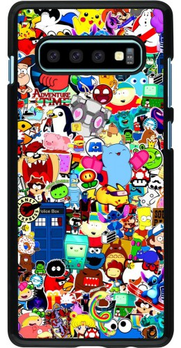 Coque Samsung Galaxy S10+ - Mixed cartoons