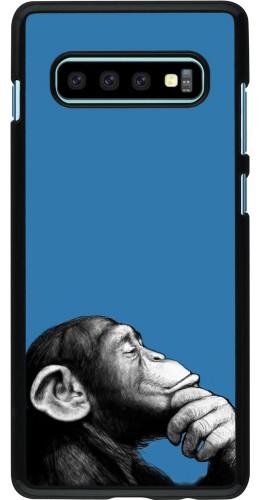 Coque Samsung Galaxy S10+ - Monkey Pop Art
