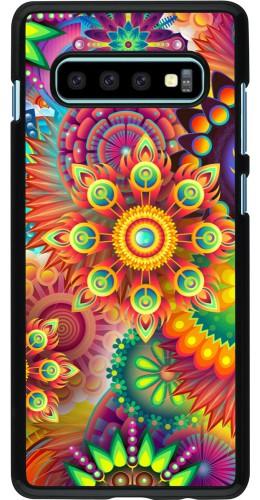 Coque Samsung Galaxy S10+ - Multicolor aztec