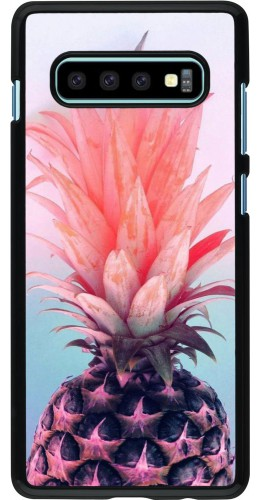 Coque Samsung Galaxy S10+ - Purple Pink Pineapple
