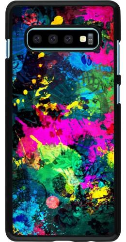 Coque Samsung Galaxy S10+ - splash paint