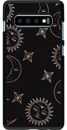 Coque Samsung Galaxy S10+ - Suns and Moons