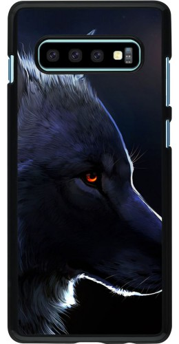 Coque Samsung Galaxy S10+ - Wolf Shape