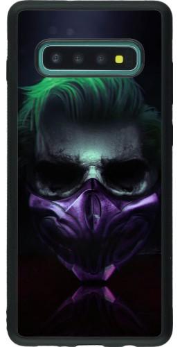 Coque Samsung Galaxy S10+ - Silicone rigide noir Halloween 20 21
