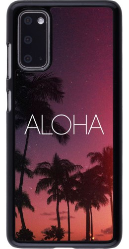 Coque Samsung Galaxy S20 - Aloha Sunset Palms