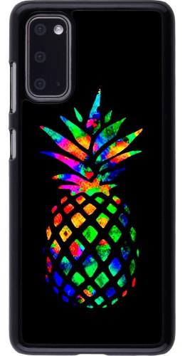 Coque Samsung Galaxy S20 - Ananas Multi-colors