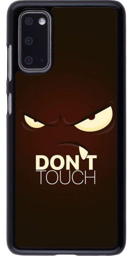 Coque Samsung Galaxy S20 - Angry Dont Touch
