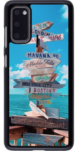 Coque Samsung Galaxy S20 - Cool Cities Directions