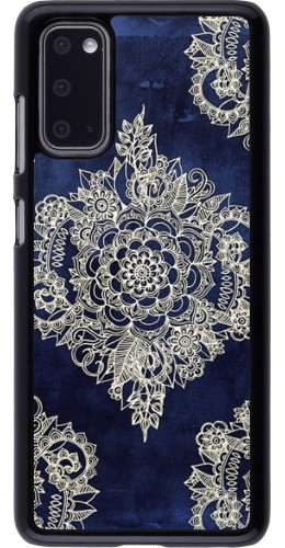 Coque Samsung Galaxy S20 - Cream Flower Moroccan