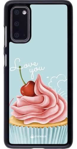 Coque Samsung Galaxy S20 - Cupcake Love You