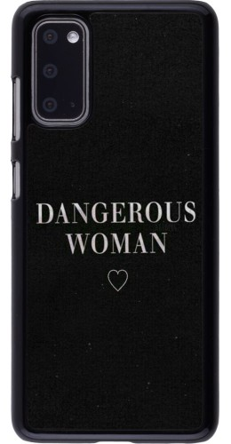 Coque Samsung Galaxy S20 - Dangerous woman