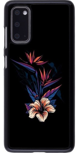 Coque Samsung Galaxy S20 - Dark Flowers