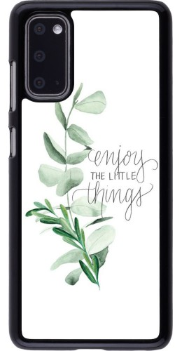 Coque Samsung Galaxy S20 - Enjoy the little things