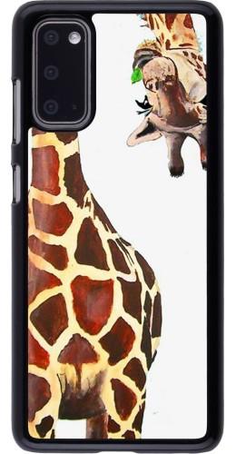 Coque Samsung Galaxy S20 - Giraffe Fit