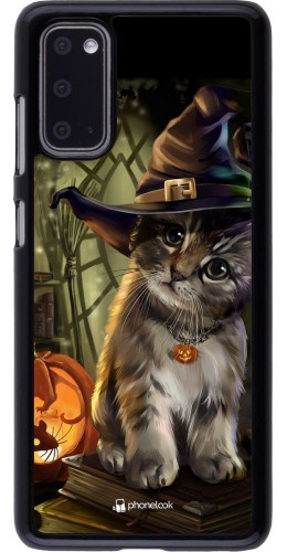 Coque Samsung Galaxy S20 - Halloween 21 Witch cat