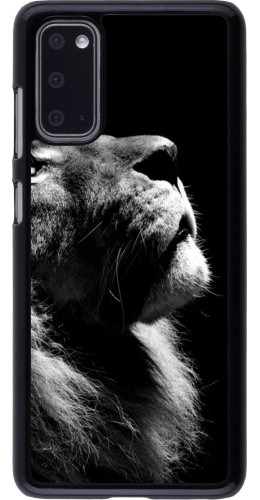 Coque Samsung Galaxy S20 - Lion looking up