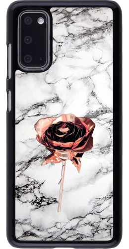 Coque Samsung Galaxy S20 - Marble Rose Gold