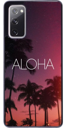 Coque Samsung Galaxy S20 FE - Aloha Sunset Palms