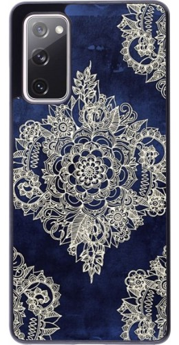 Coque Samsung Galaxy S20 FE - Cream Flower Moroccan