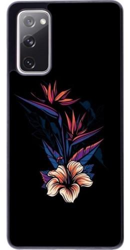 Coque Samsung Galaxy S20 FE - Dark Flowers