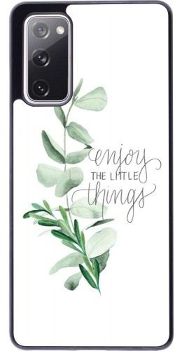 Coque Samsung Galaxy S20 FE - Enjoy the little things