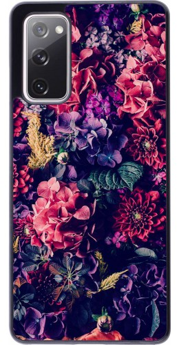 Coque Samsung Galaxy S20 FE - Flowers Dark