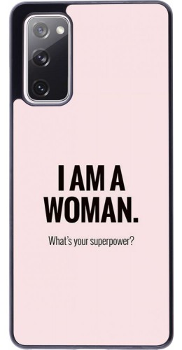 Coque Samsung Galaxy S20 FE - I am a woman