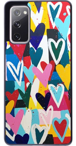 Coque Samsung Galaxy S20 FE - Joyful Hearts