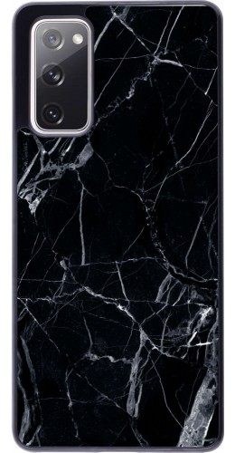 Coque Samsung Galaxy S20 FE - Marble Black 01