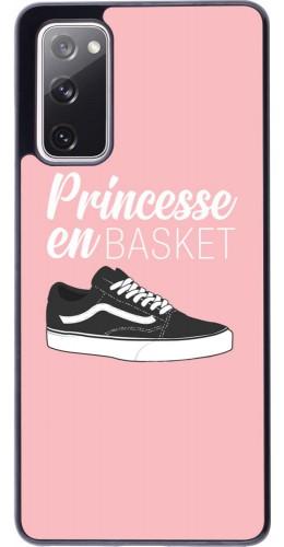 Coque Samsung Galaxy S20 FE - princesse en basket