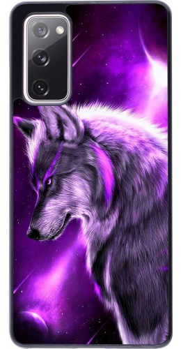 Coque Samsung Galaxy S20 FE - Purple Sky Wolf