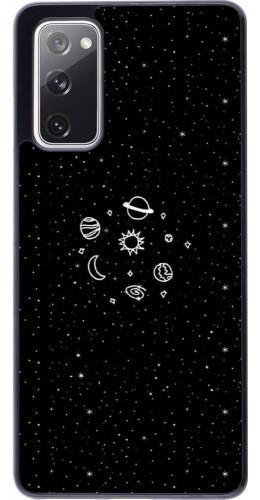 Coque Samsung Galaxy S20 FE - Space Doodle