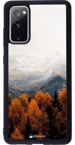 Coque Samsung Galaxy S20 FE - Silicone rigide noir Autumn 21 Forest Mountain