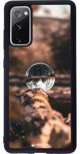Coque Samsung Galaxy S20 FE - Silicone rigide noir Autumn 21 Sphere