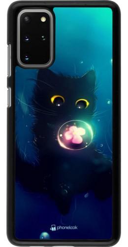 Coque Samsung Galaxy S20+ - Cute Cat Bubble