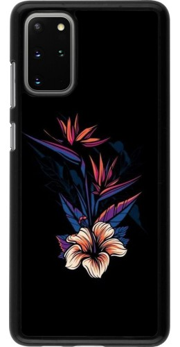 Coque Samsung Galaxy S20+ - Dark Flowers