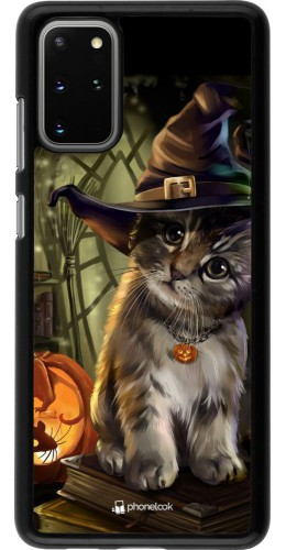 Coque Samsung Galaxy S20+ - Halloween 21 Witch cat
